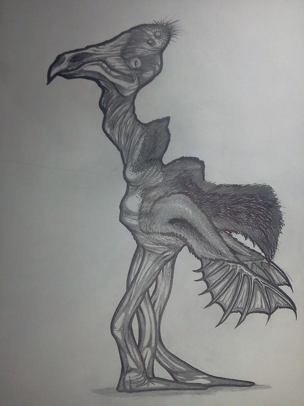 alien birdthing