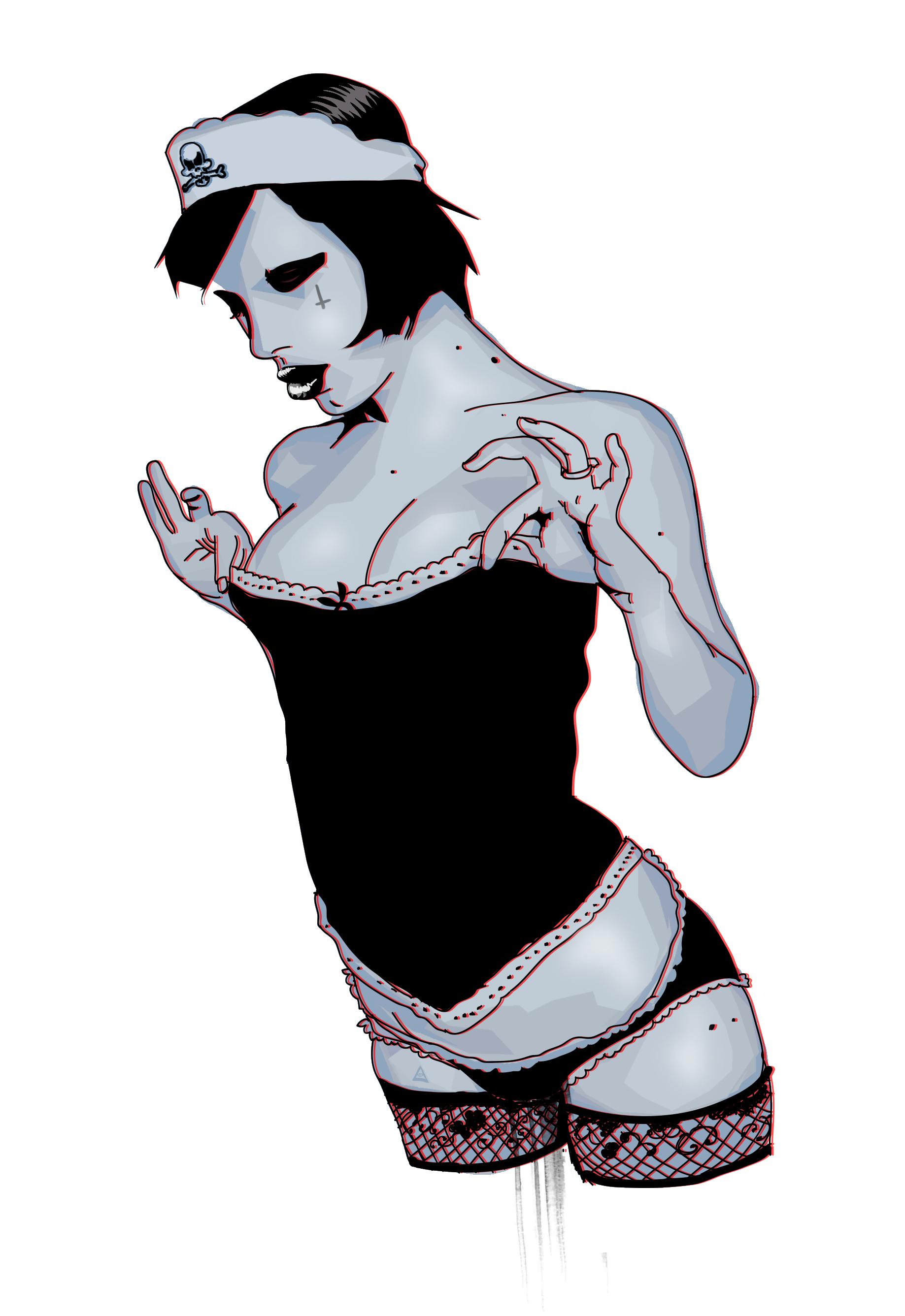 Gothic Pirate Maiden