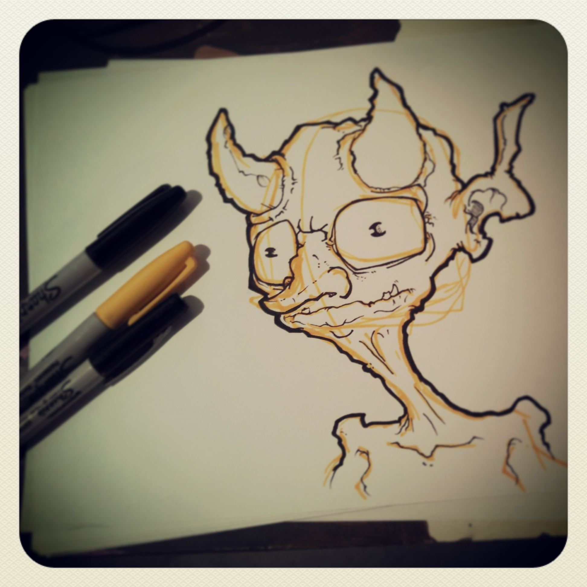 daemon doodle