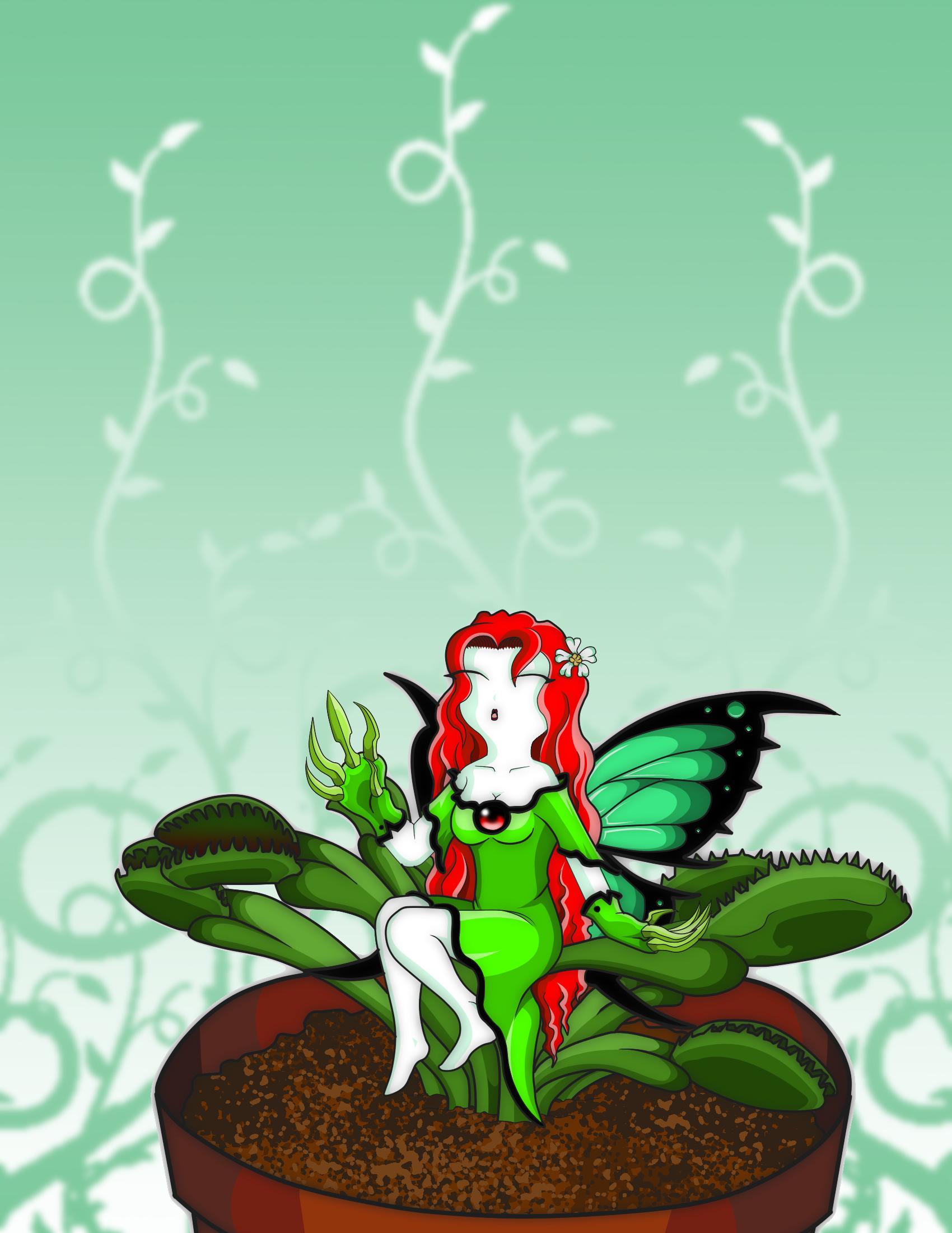 Fairy dionaea