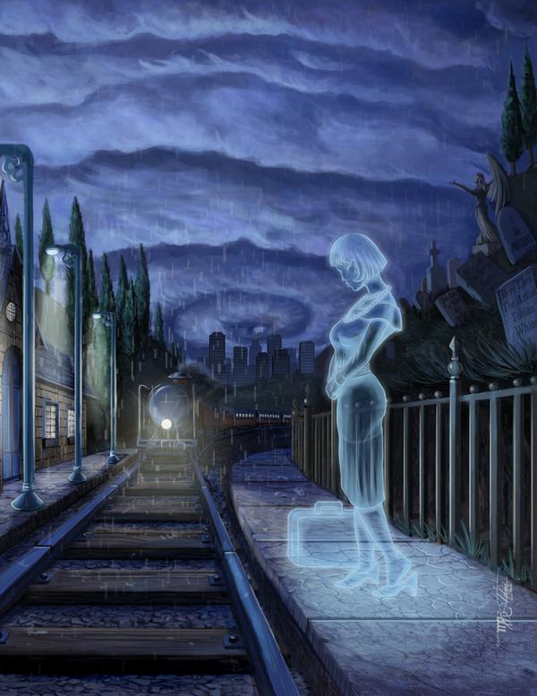 """Spooks """"book cover"""