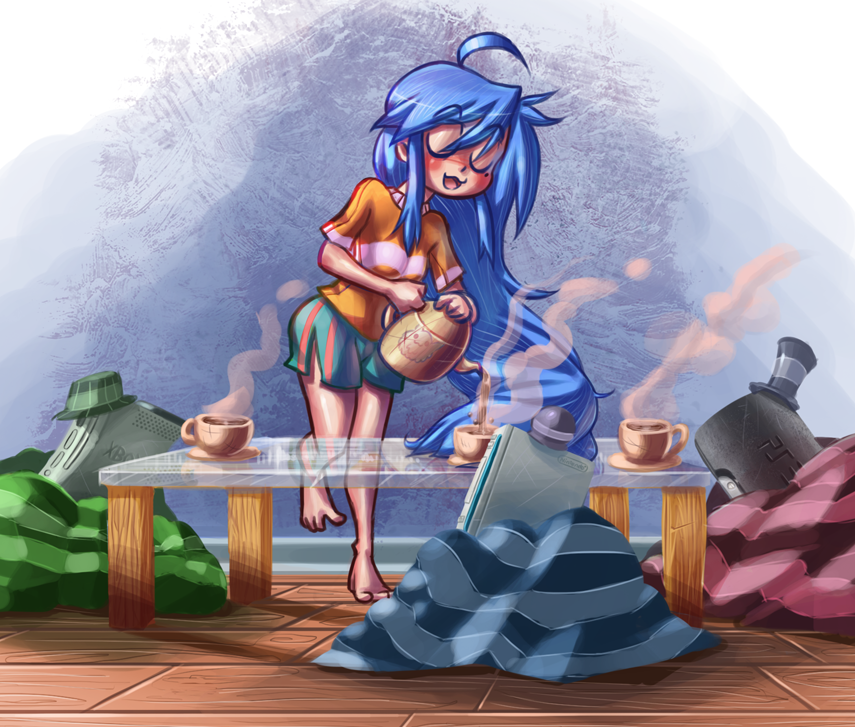 Konata Tea Party