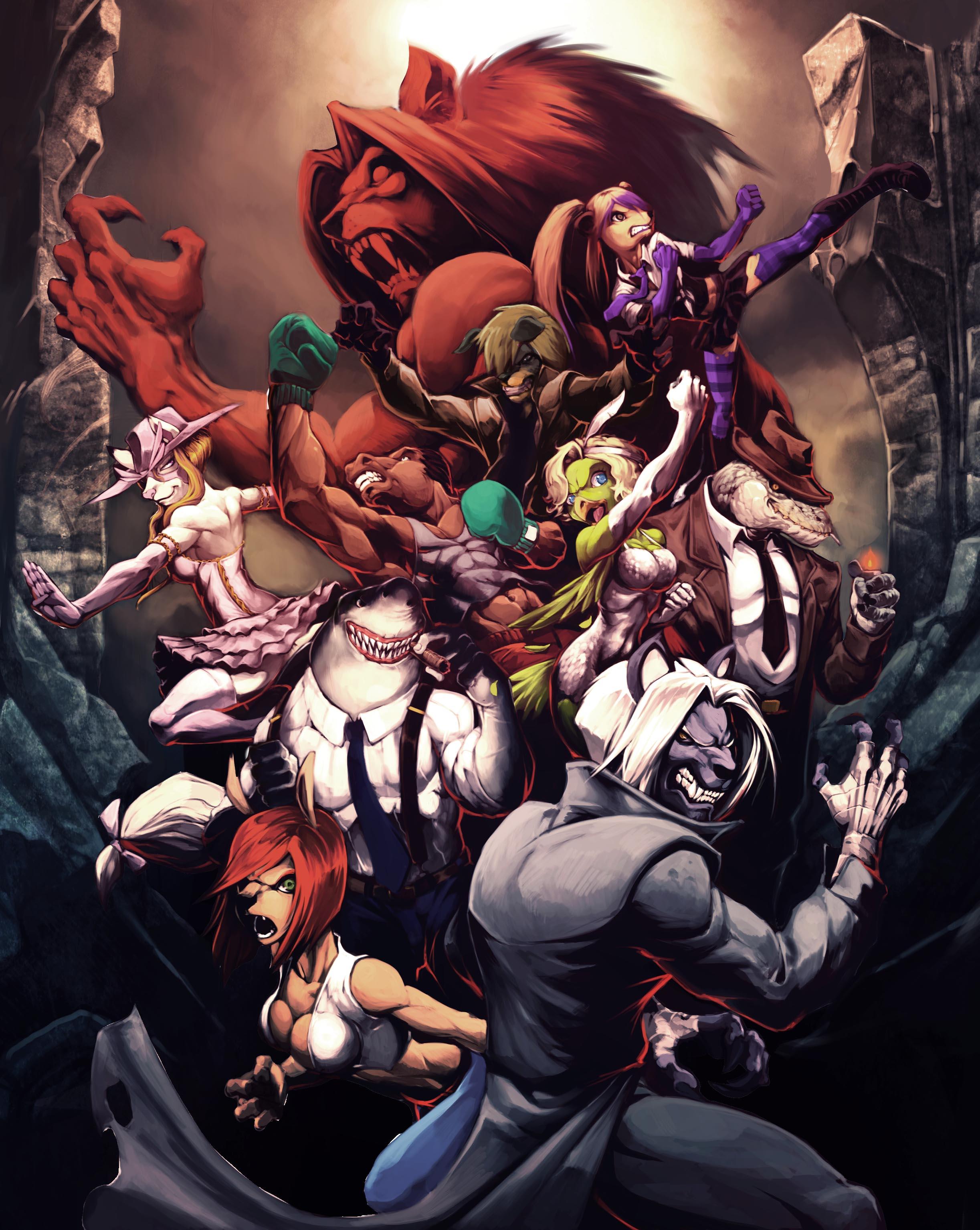 Beast's Fury Cover Art