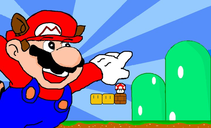 Mario (bored at work one day)