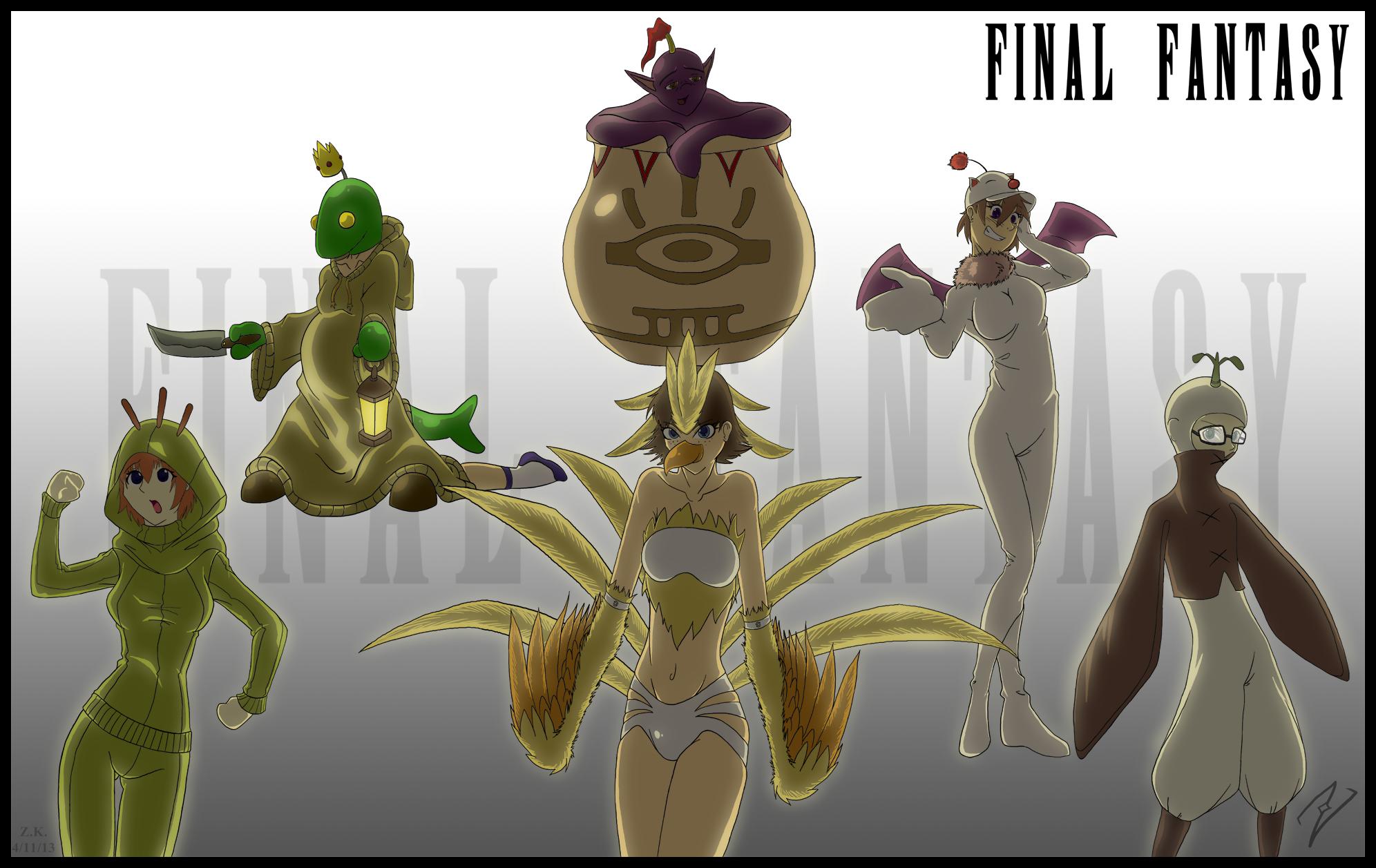Final Fantasy Monster Medley