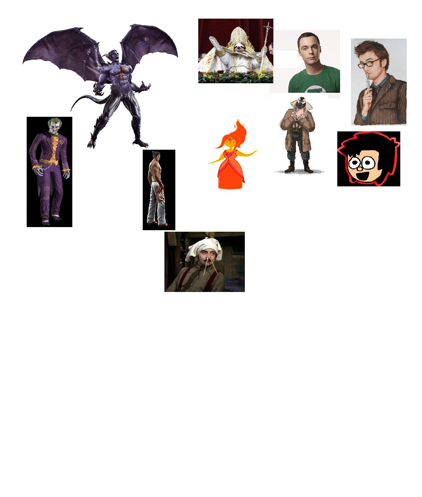 Devil Kazuya vs Some People
