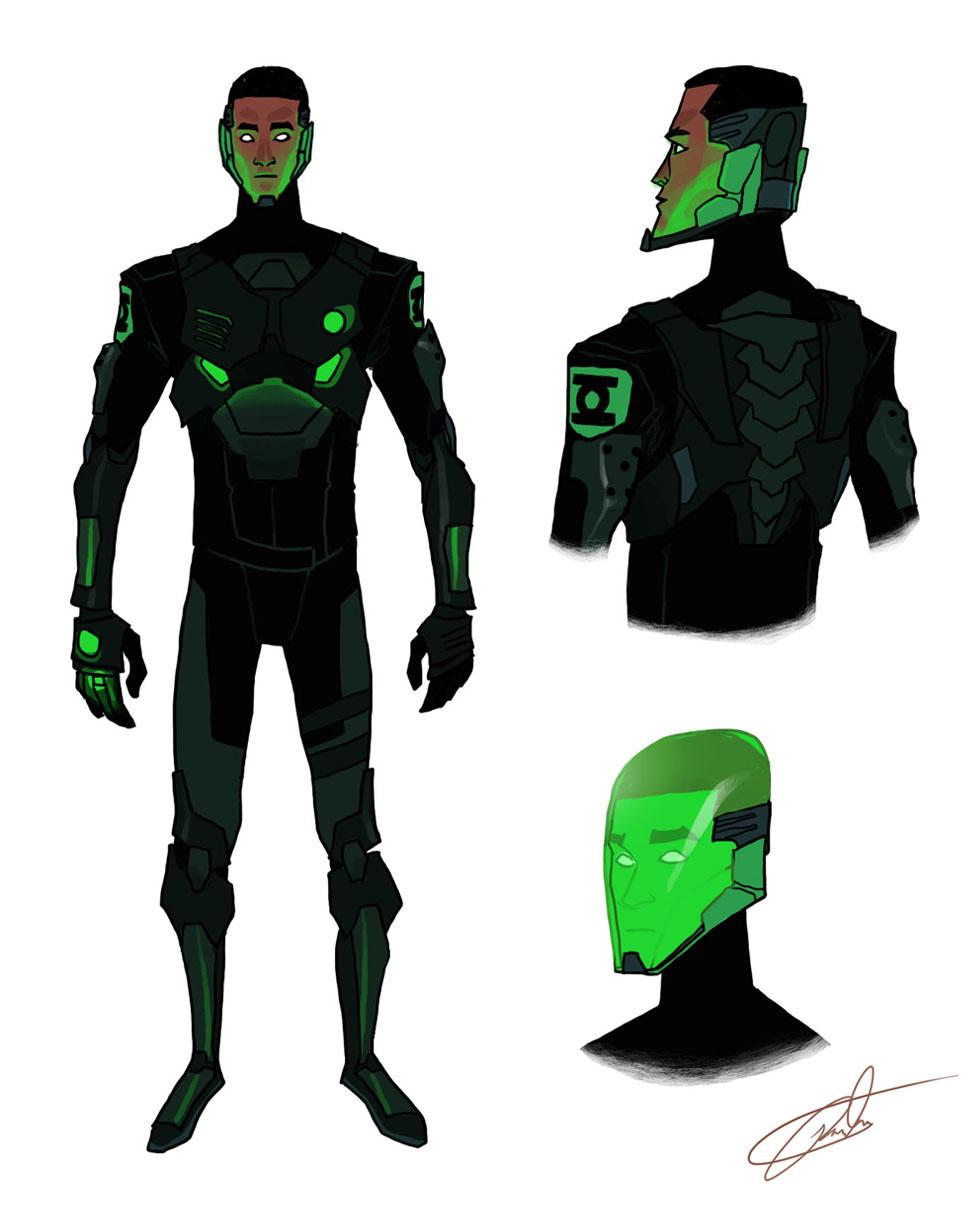 PR Green Lantern redesign