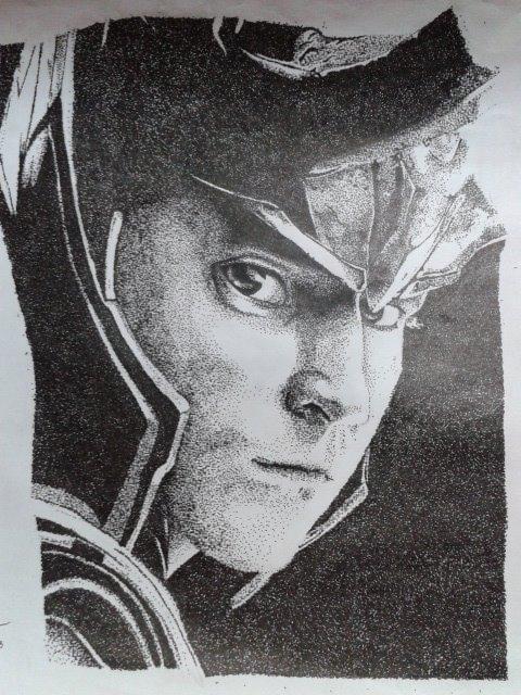 Loki Laufeyson- Pointilism