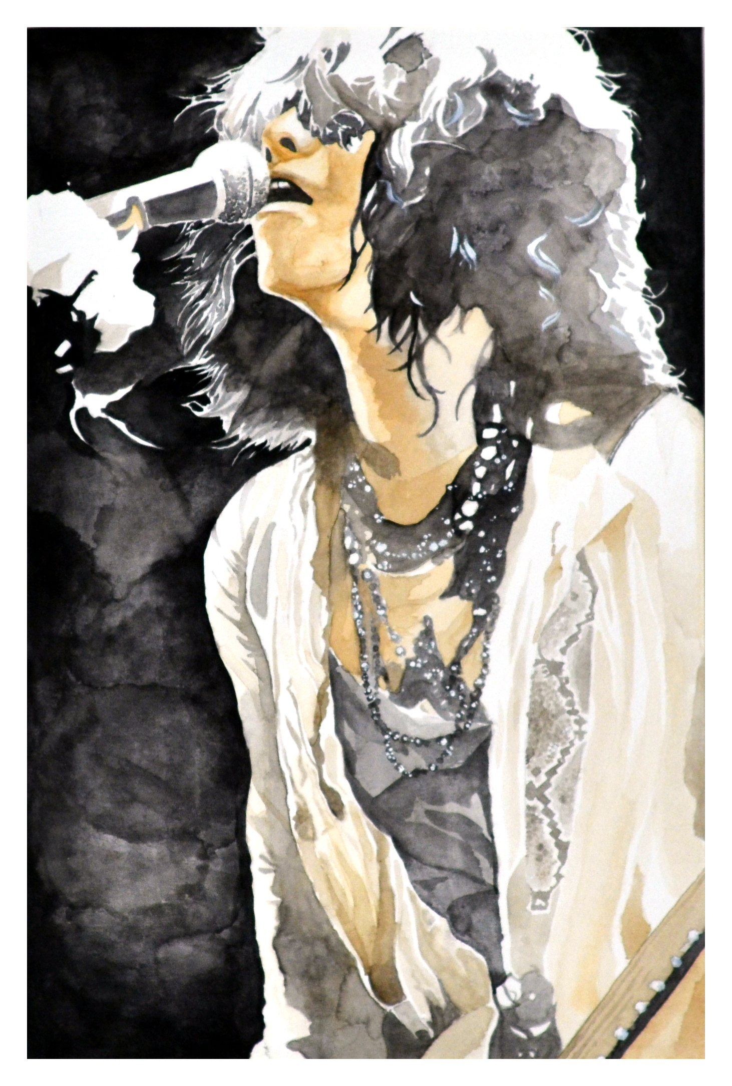 Hyde - coffee&watercolor