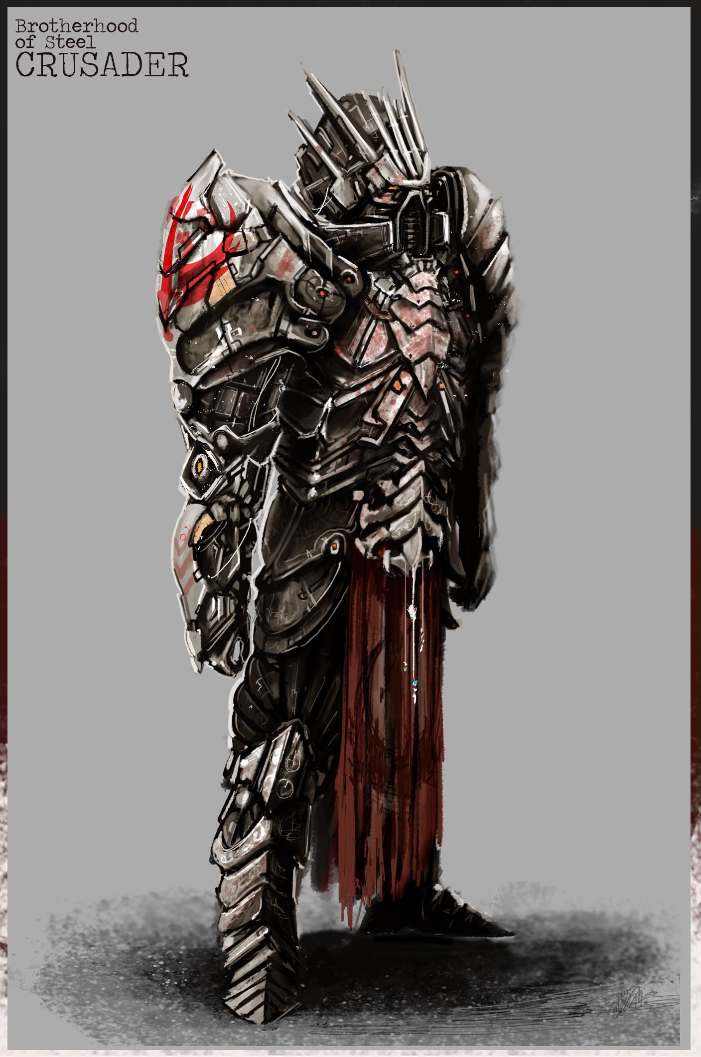 Brotherhood of Steel Crusader