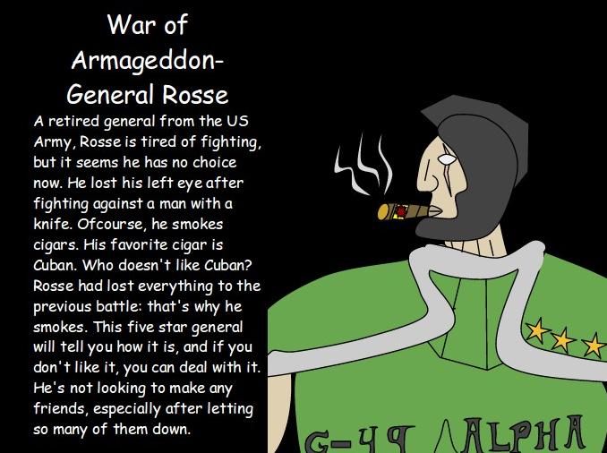 General Rosse Bio