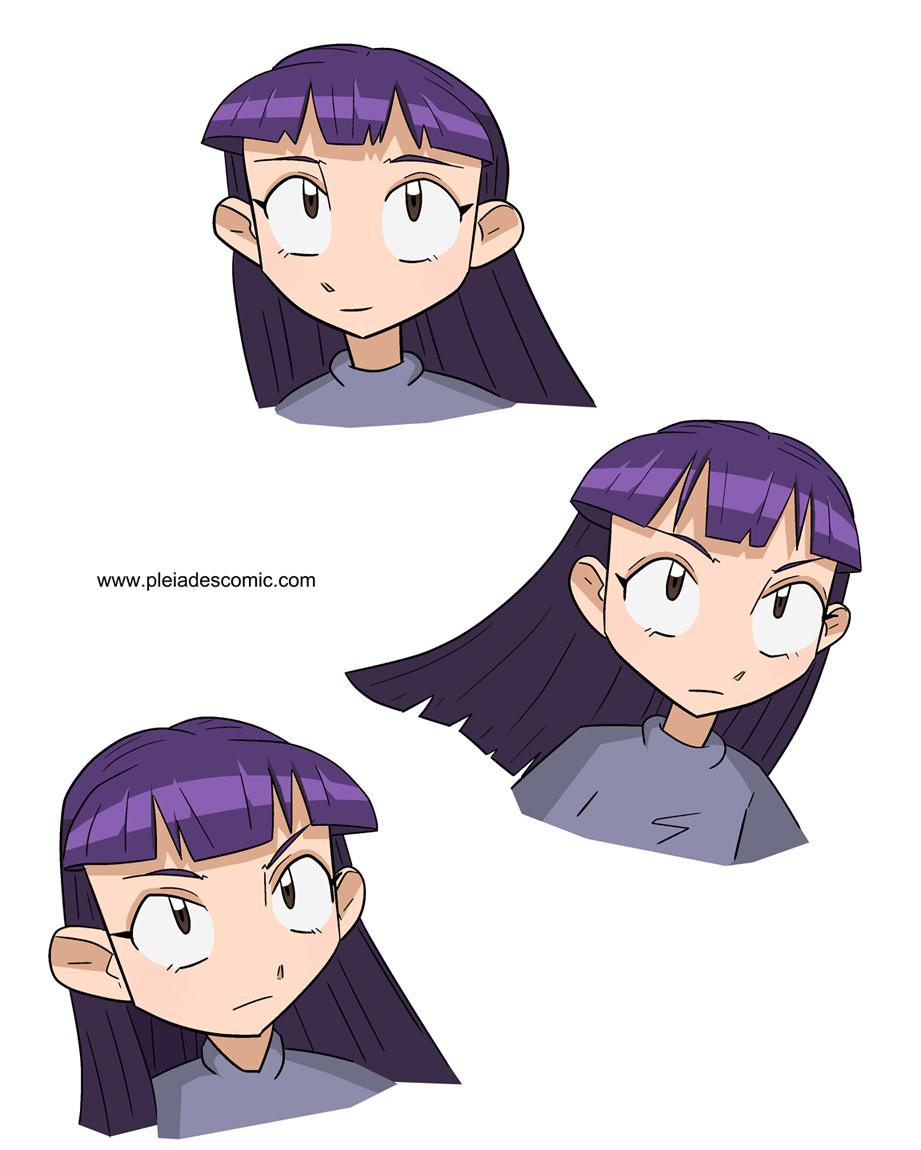 Character mock-ups