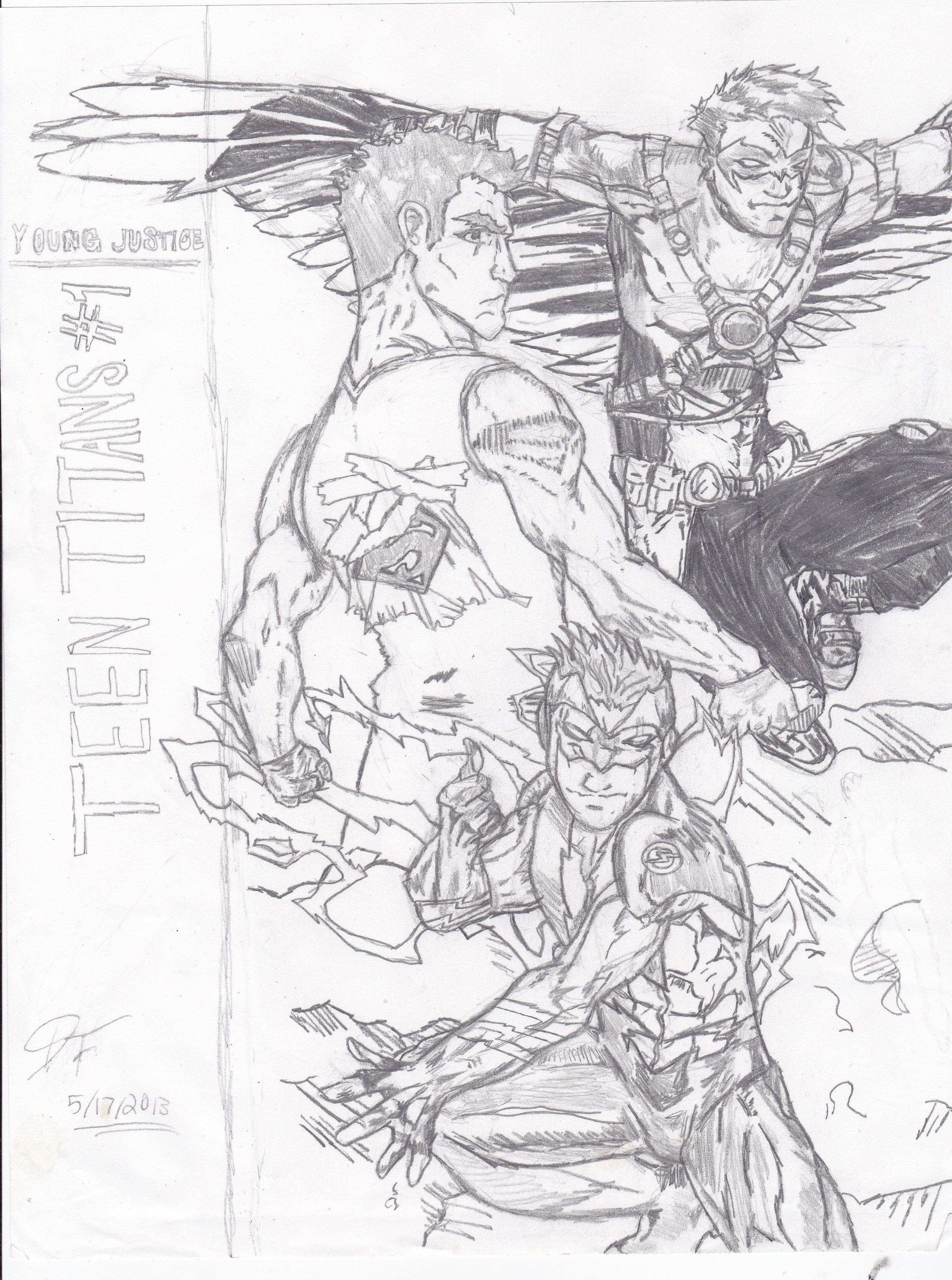 The Super 3 (Teen Titans )