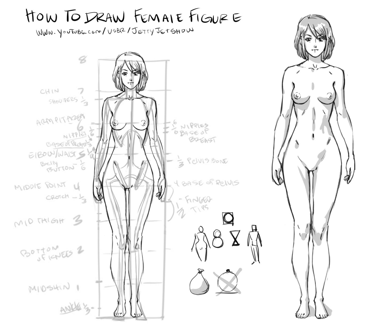 Beginnier How to Draw Female