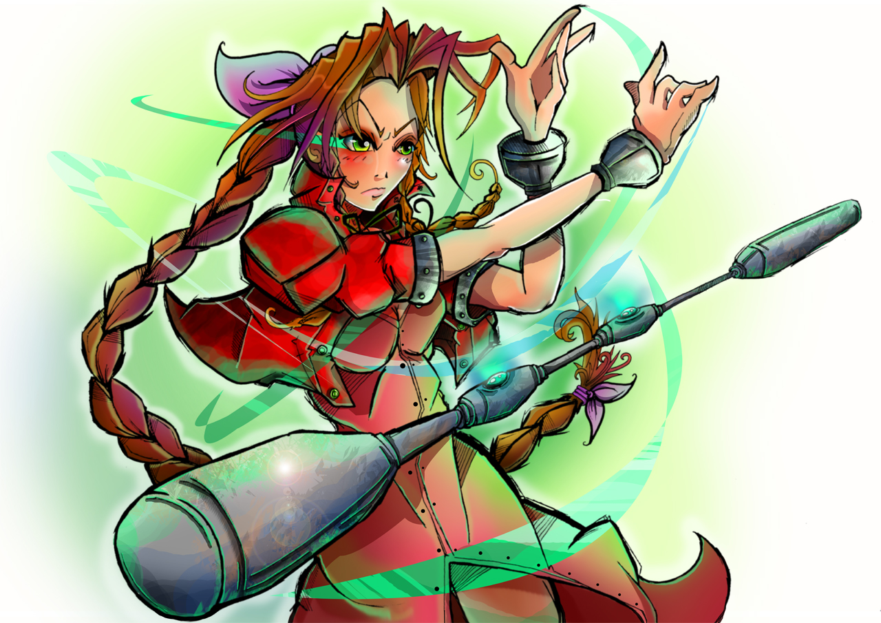 Womanly Aeris