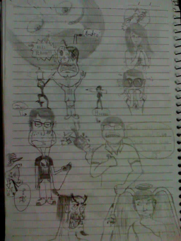 Hight School drawings