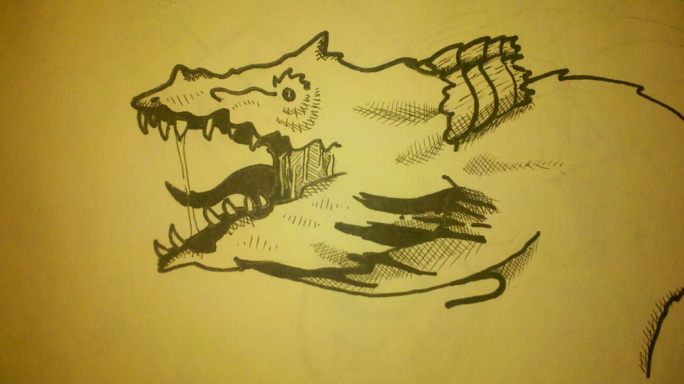Dragon Side Shot