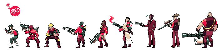 TF2 Sprites: The Line-up
