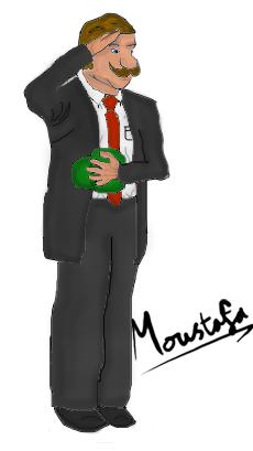 Luigi Saluting