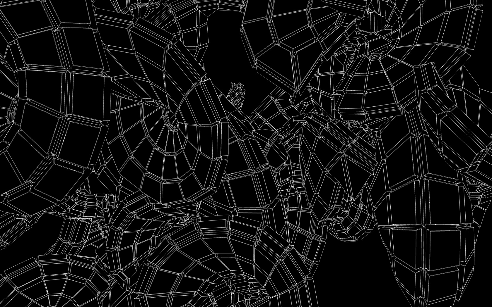 Wireframe Matrix Extrusion2