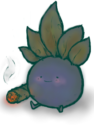 Oddish: blunt about to happen