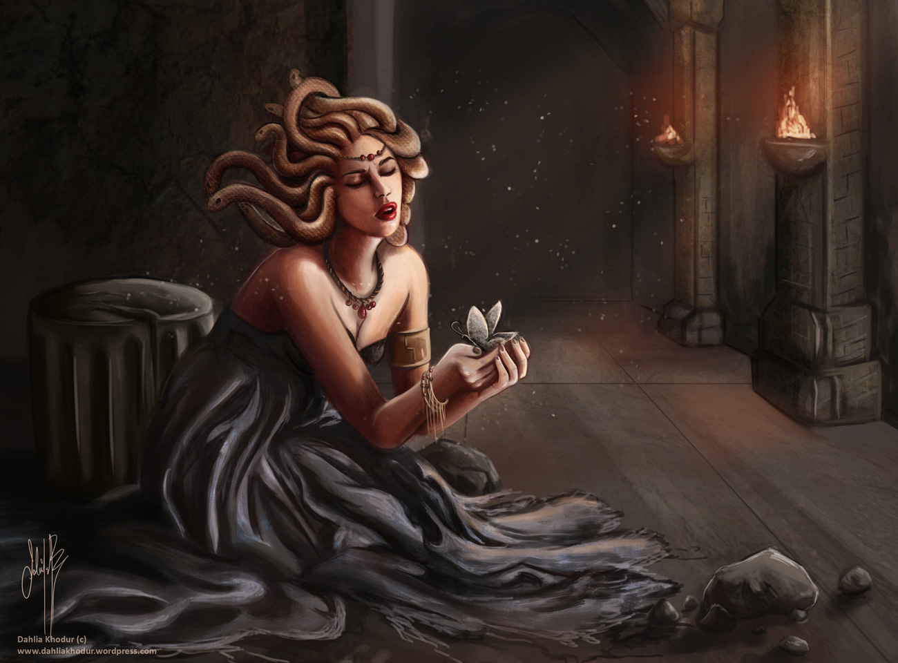 Medusa's Grief