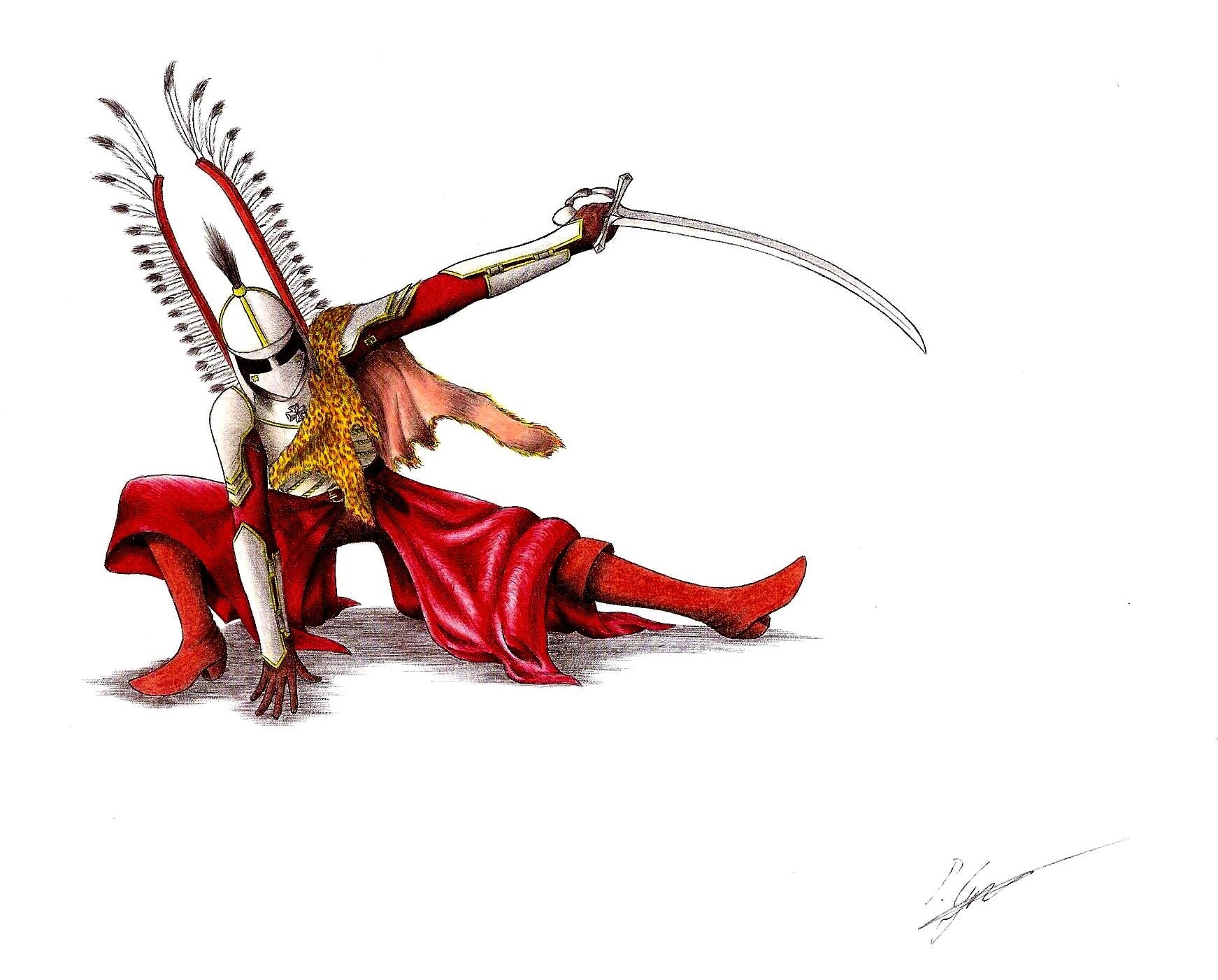 Horseless Winged Hussar