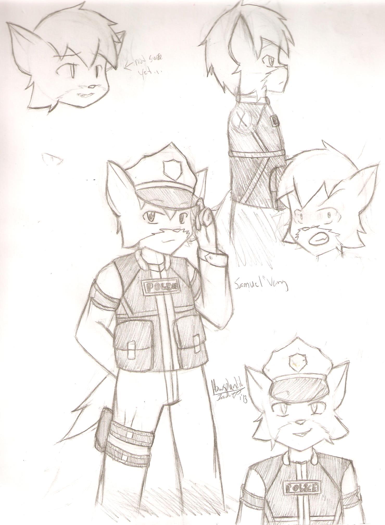 Samuel Vang character concept