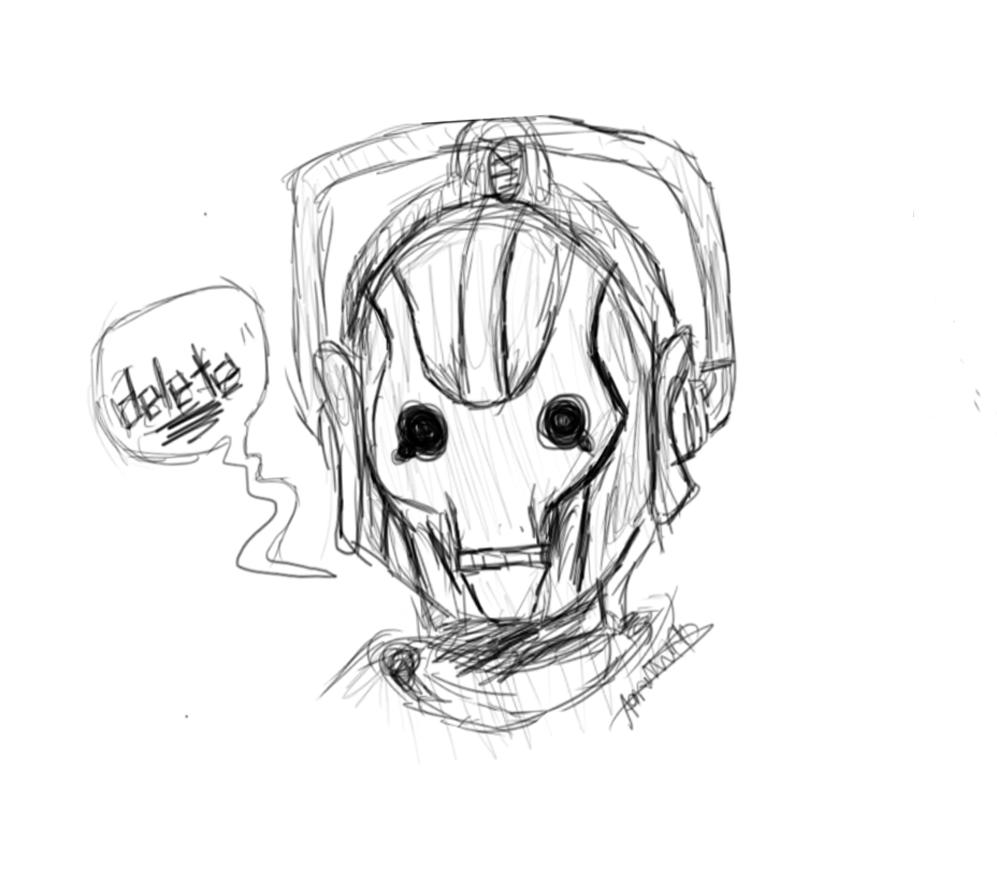 Cyberman Doodle