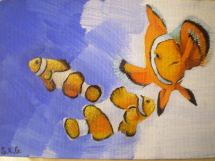 Clown Fishies