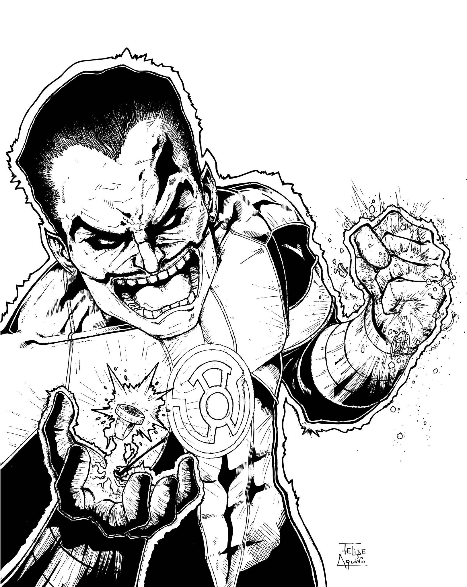 Sinestro - Yellow Lantern