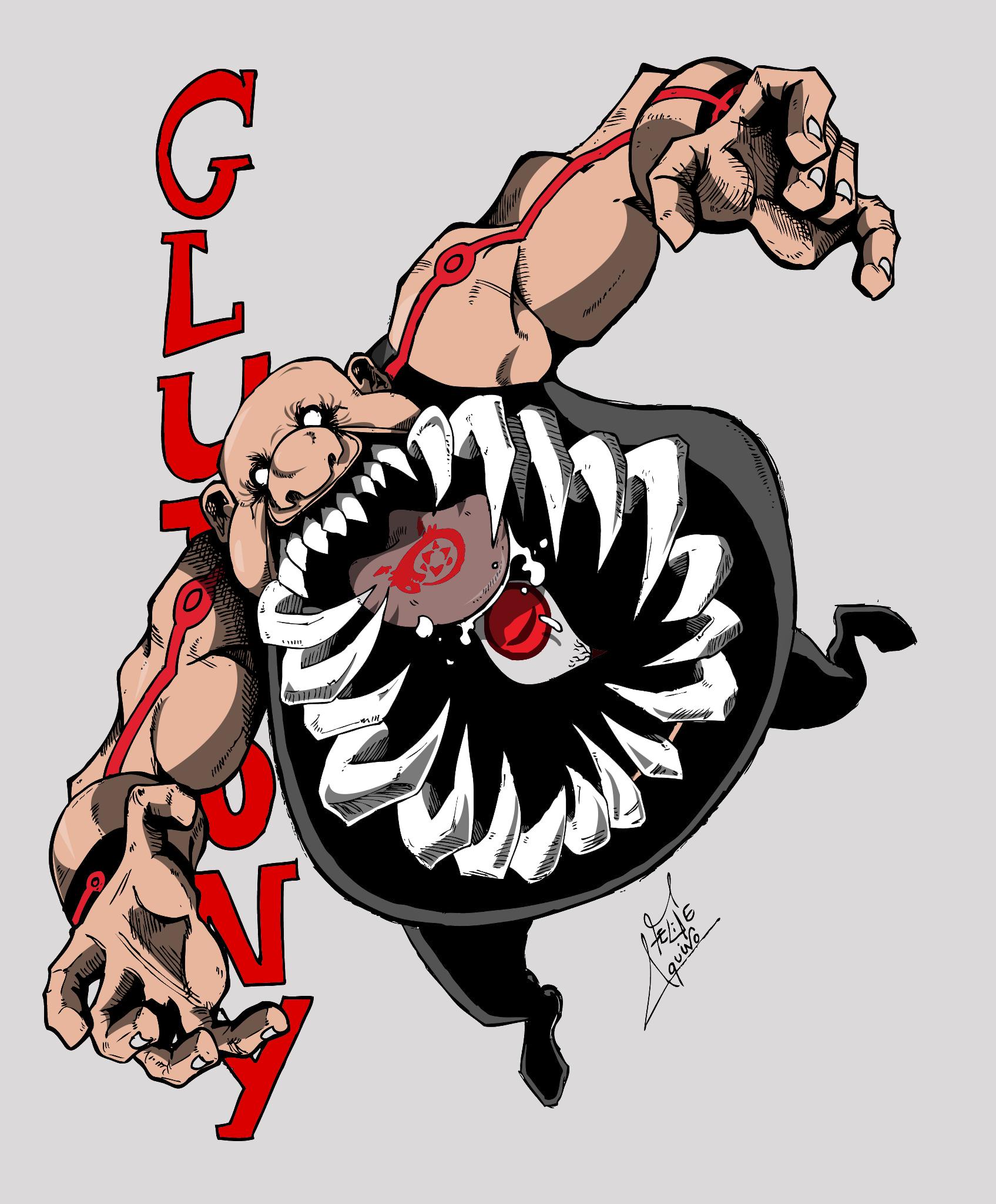 Gluttony - Gula
