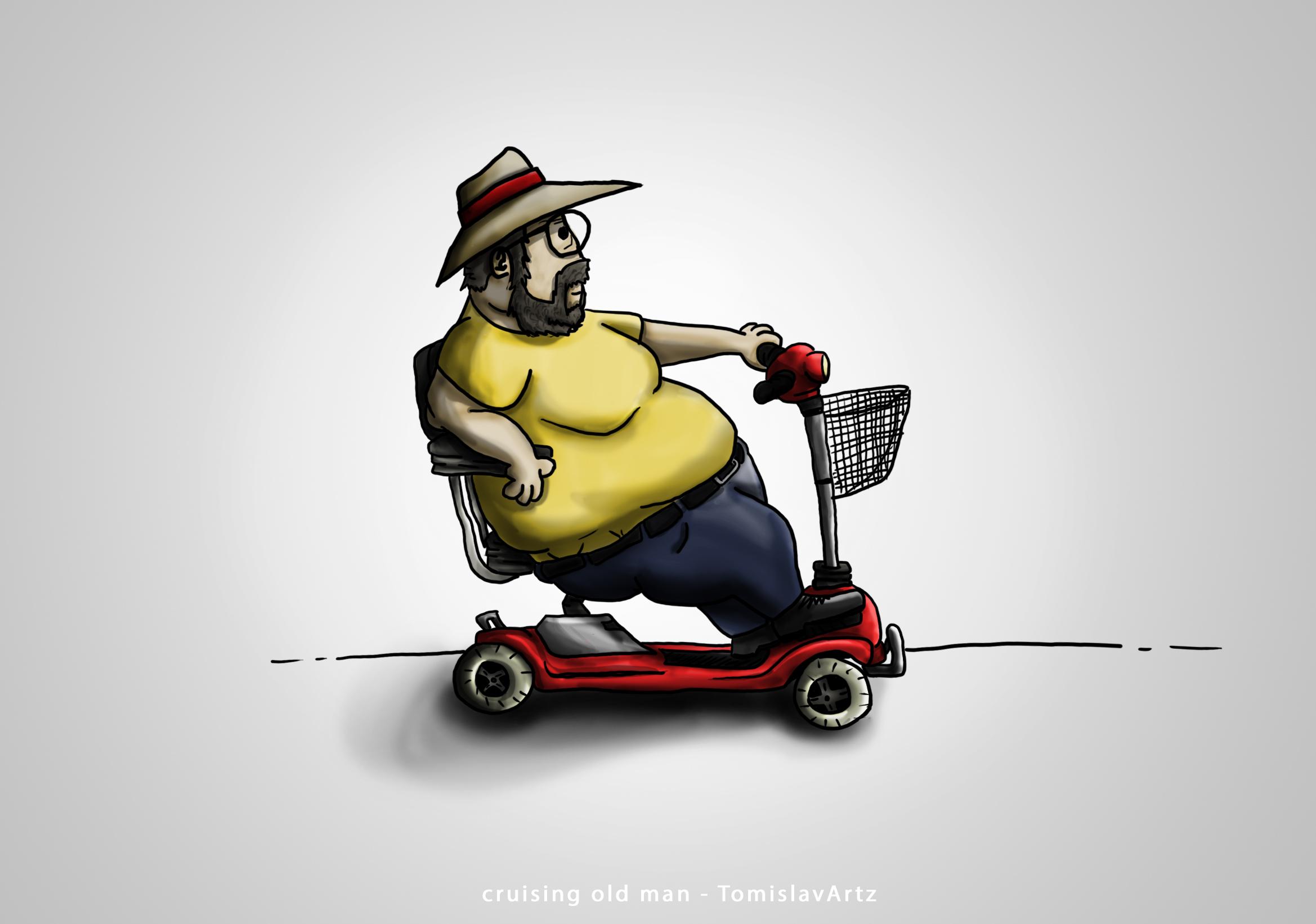 Old Man Cruising
