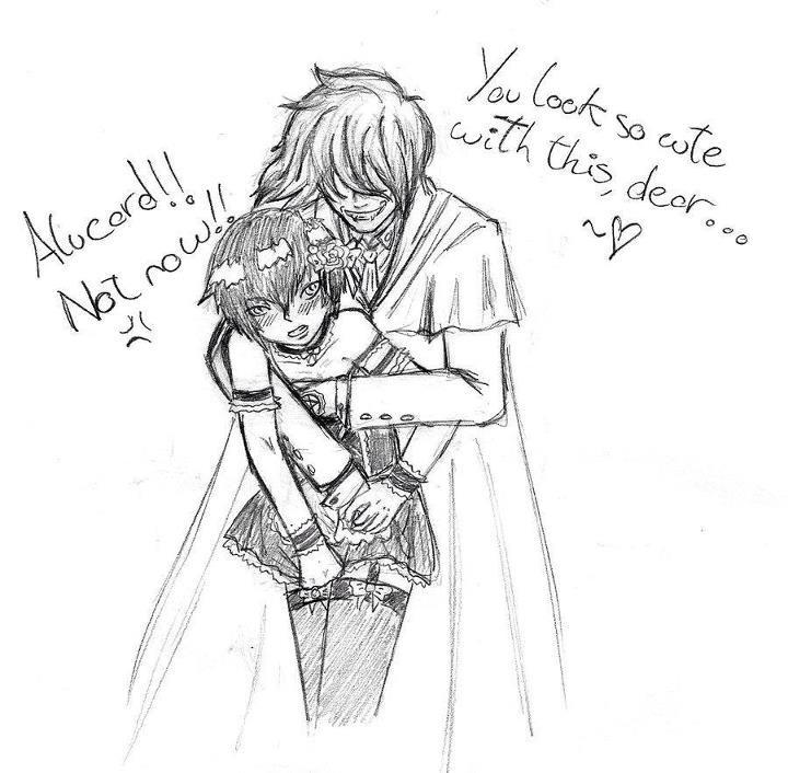 naughty Alucard