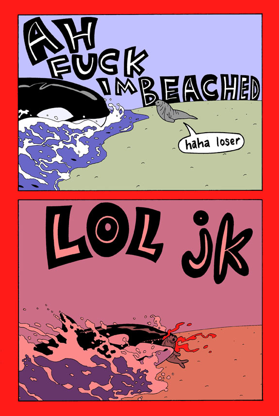 Killer Whale pg. 3