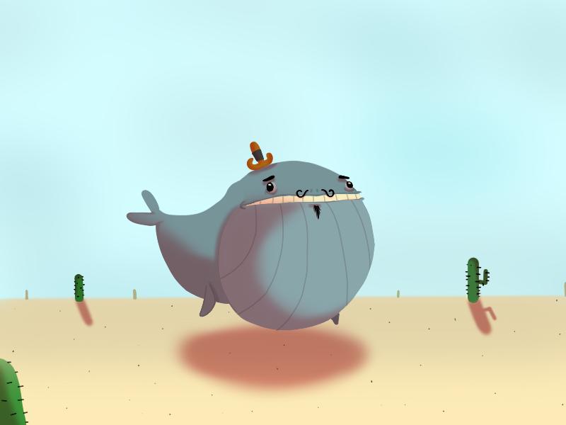 A Whale.