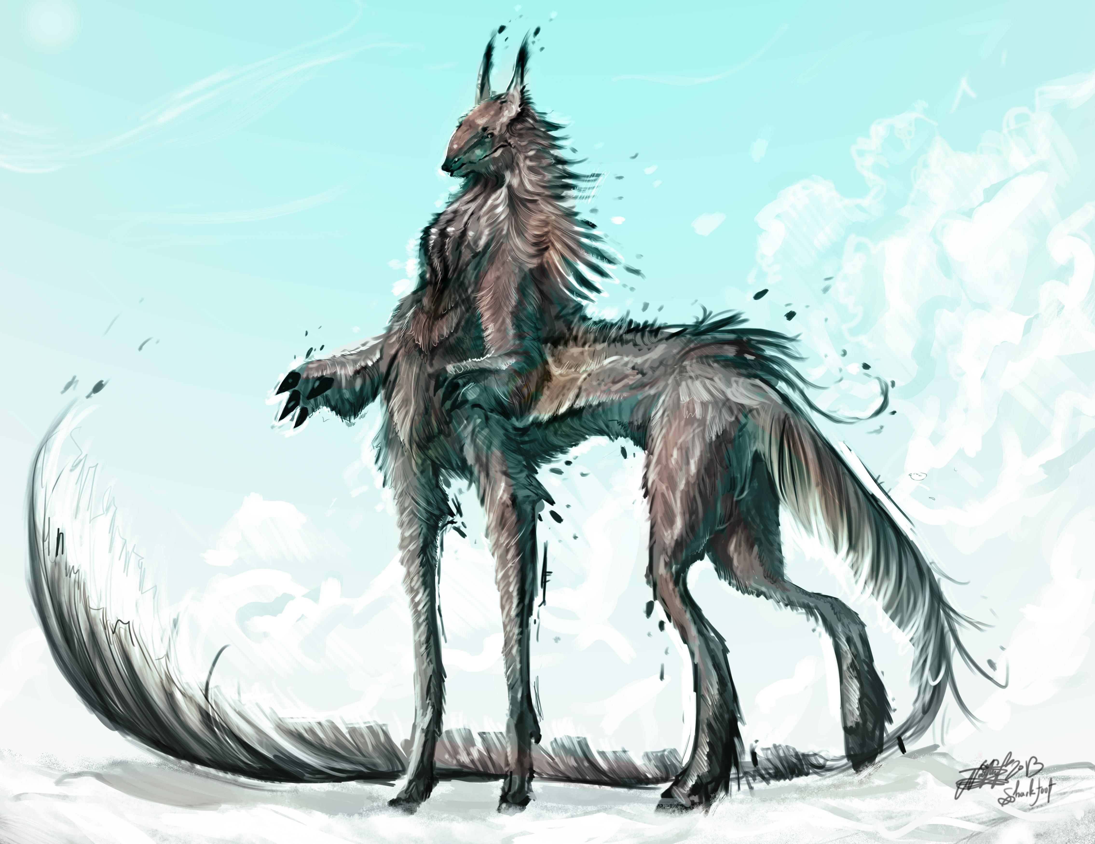 A centaur... kinda