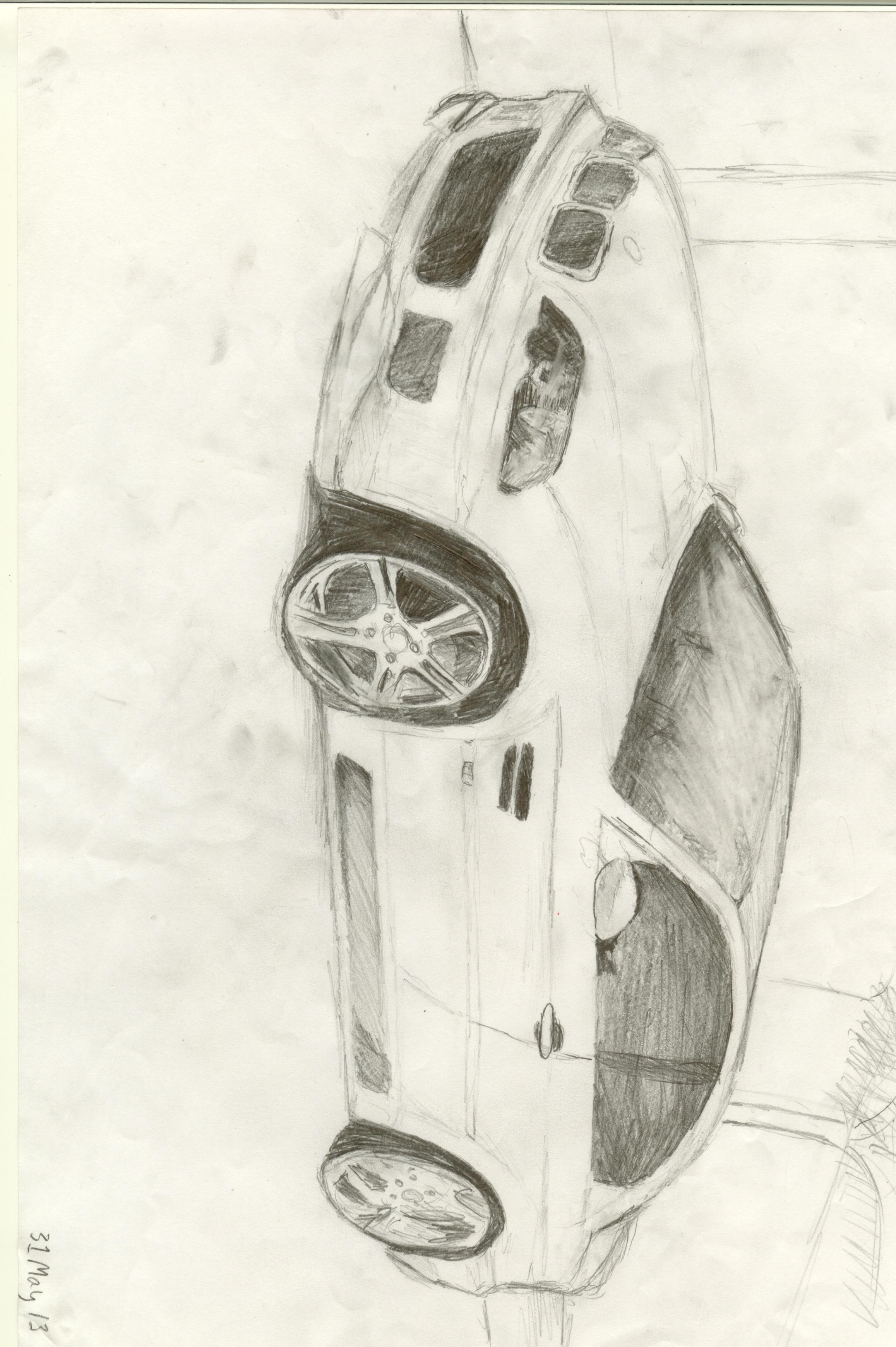 BMW M3 E46 Sketch