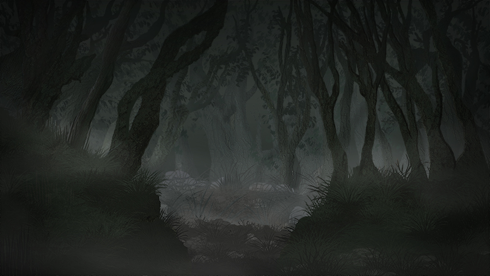 Spooky Forest Layout
