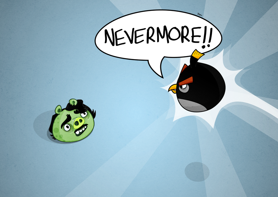 Angry Birds: The Raven