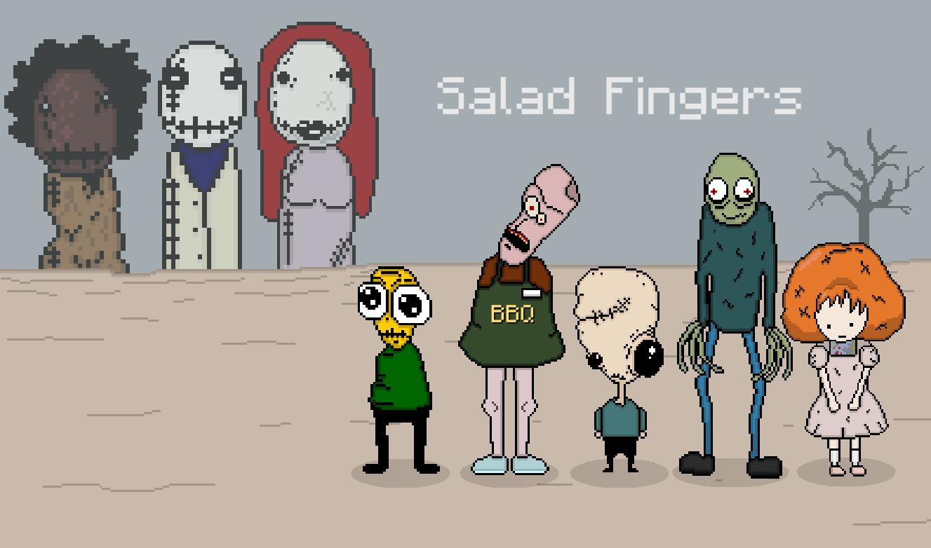 Salad Pixels