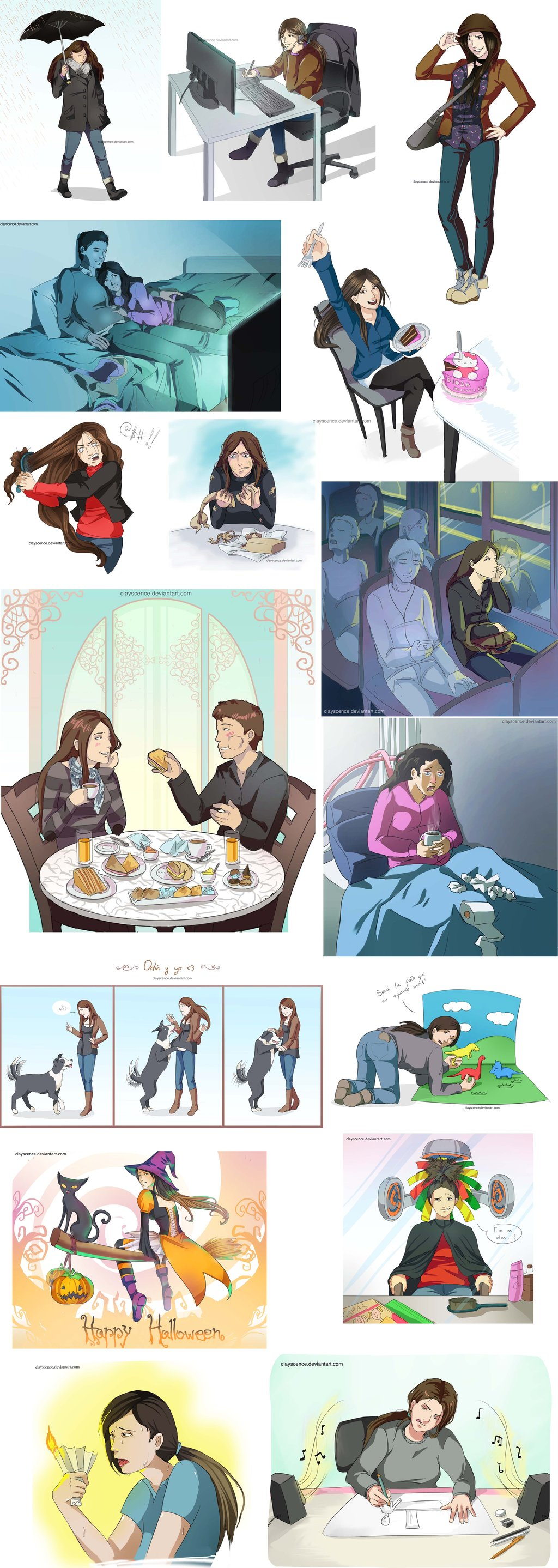 Facebook sketches