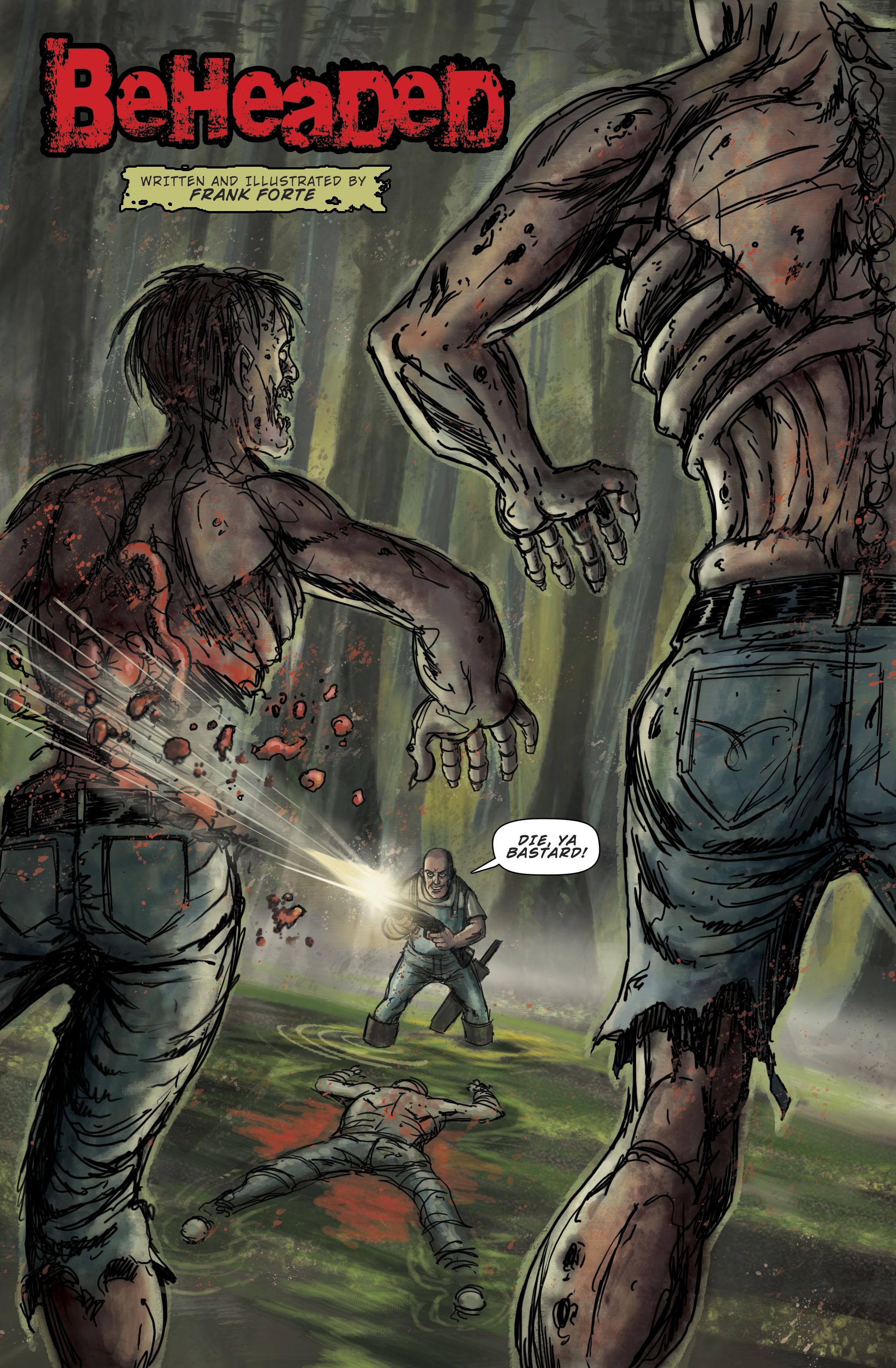 """Zombie Terrors """"Beheaded"""" pg 1"""