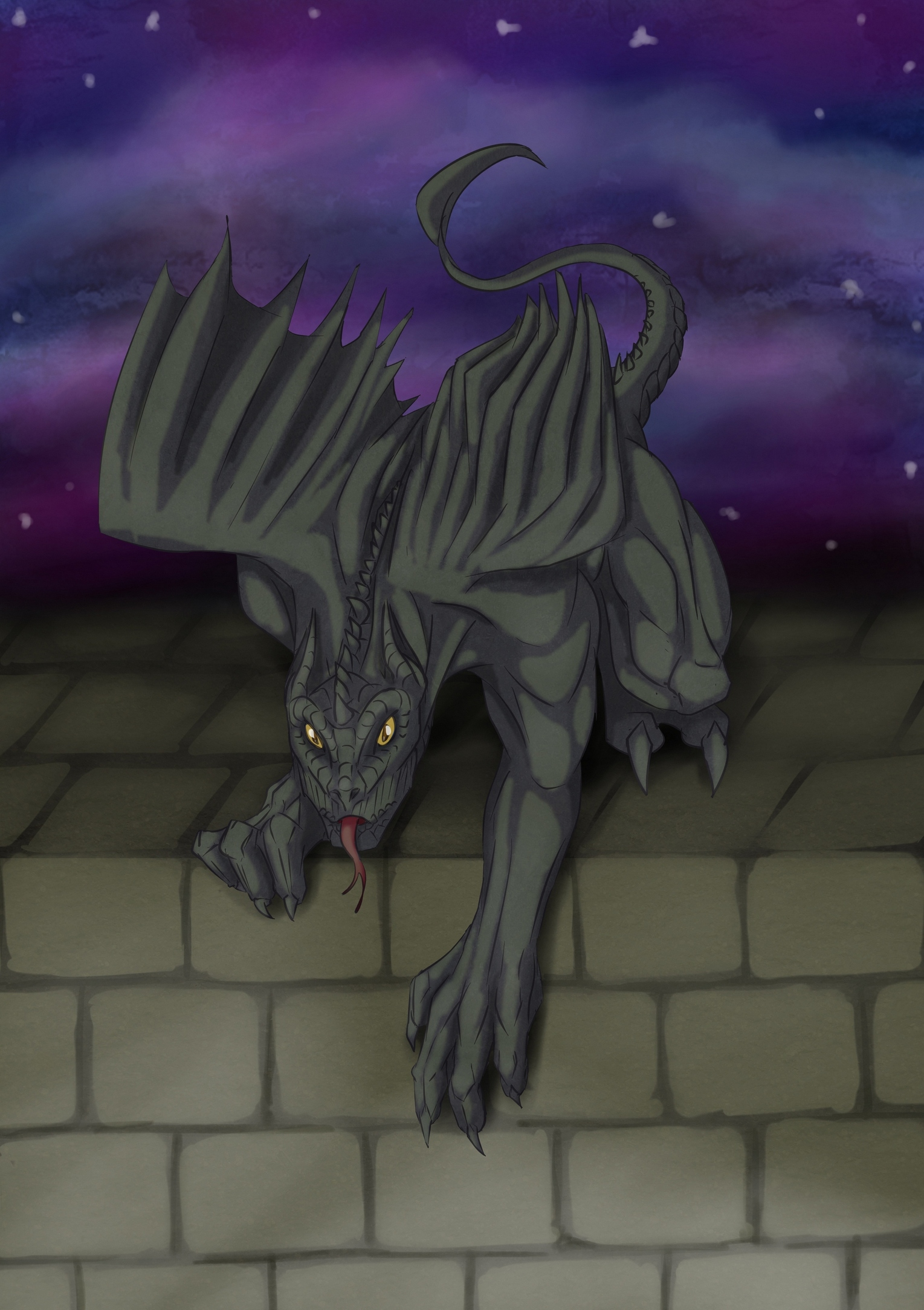 A curious Dragoyle