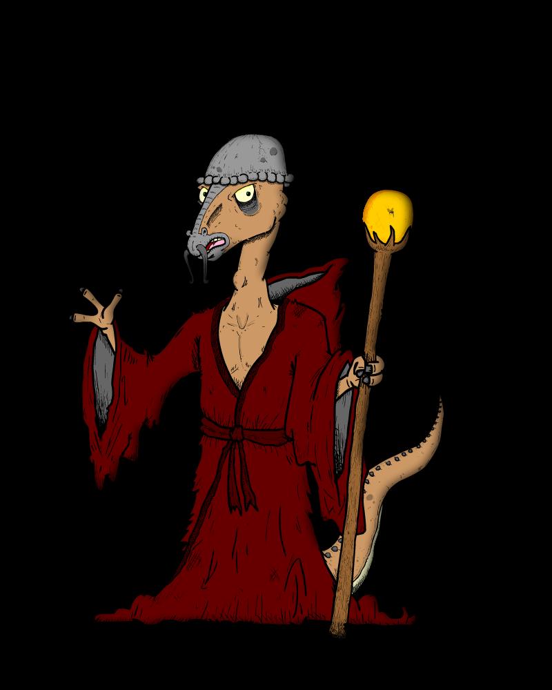 Ancient Dinosaur Shaman