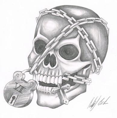 Locked Skull