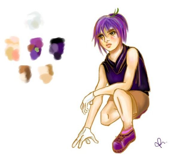 Naomi - Character Concept Art