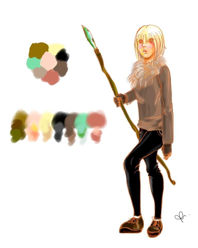 Freyo - Character Concept Art