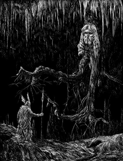 Odin Seeking Counsel fromMimir