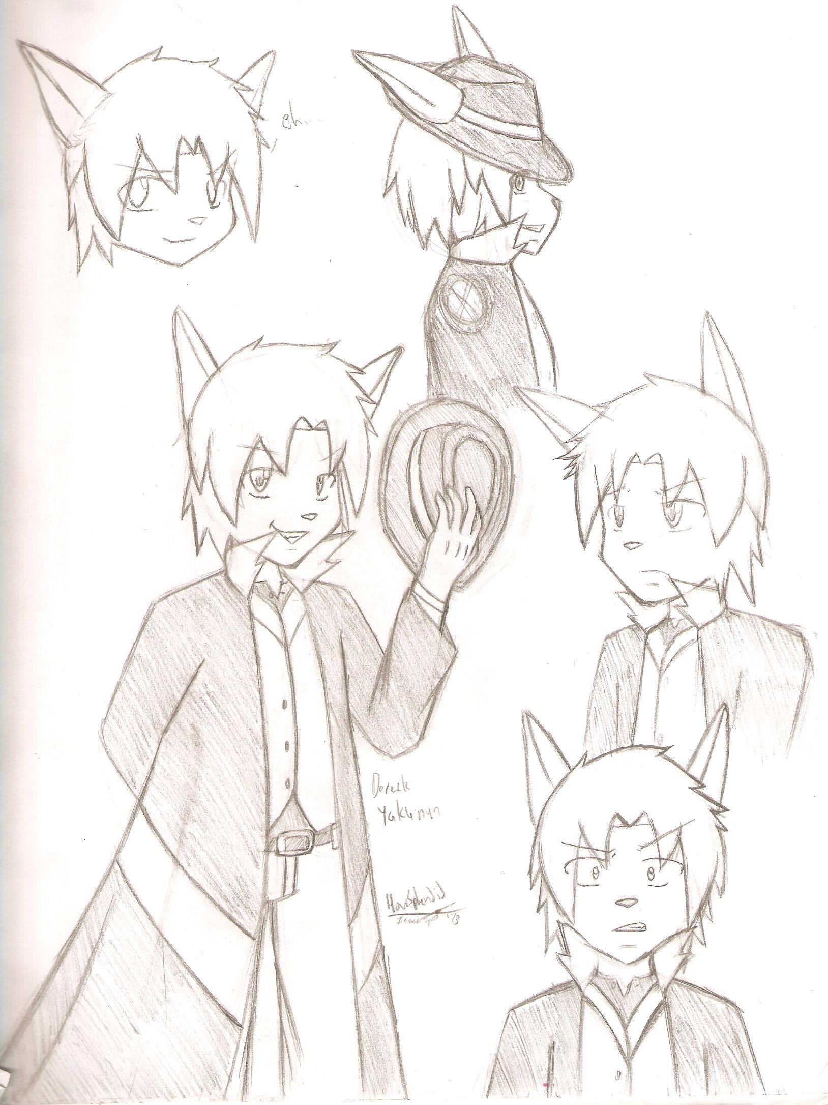 Dereck Yakunun character conce